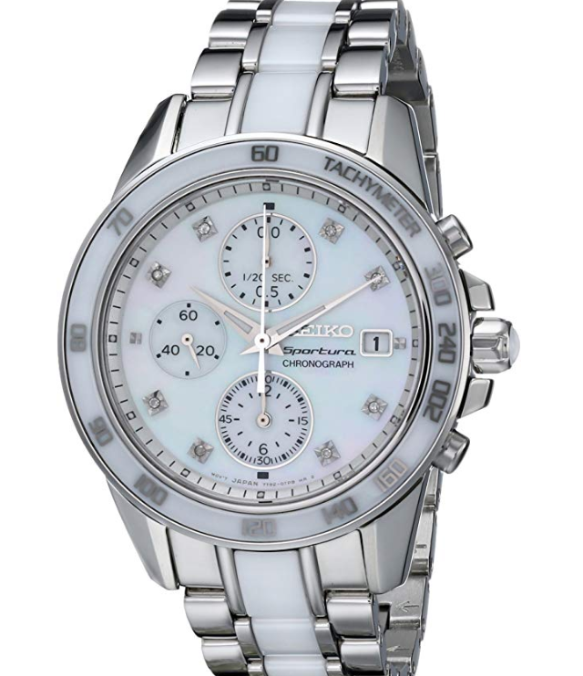 Seiko-Sportura-Ladies'-Chronograph