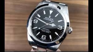 Rolex Explorer watch